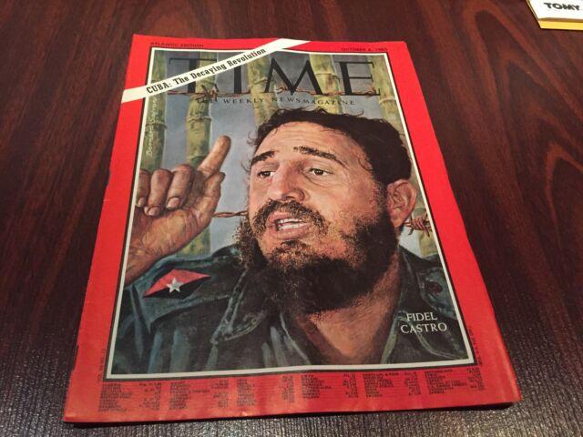 1965 Time October 8 Fidel Castro, Cuba;Dodgers win the Series no label