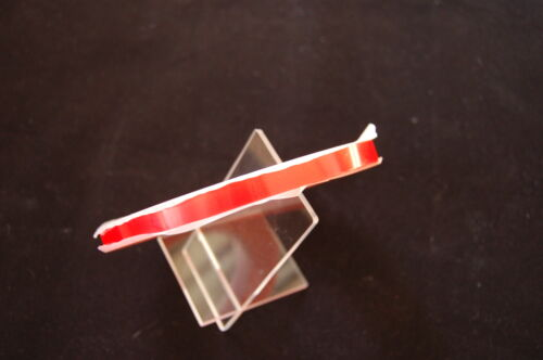 10MM X 33M DOUBLE SIDED TRANSPARENT TAPE, RED TAPEULTRA STRONG