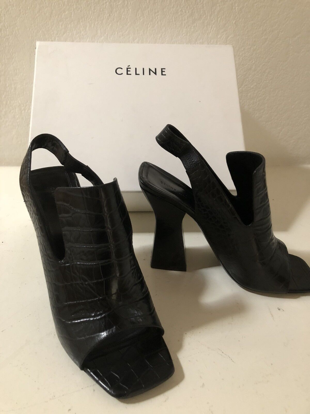 Celine ,black ,high heel,exelent condition, slightly used $250 ,was $920