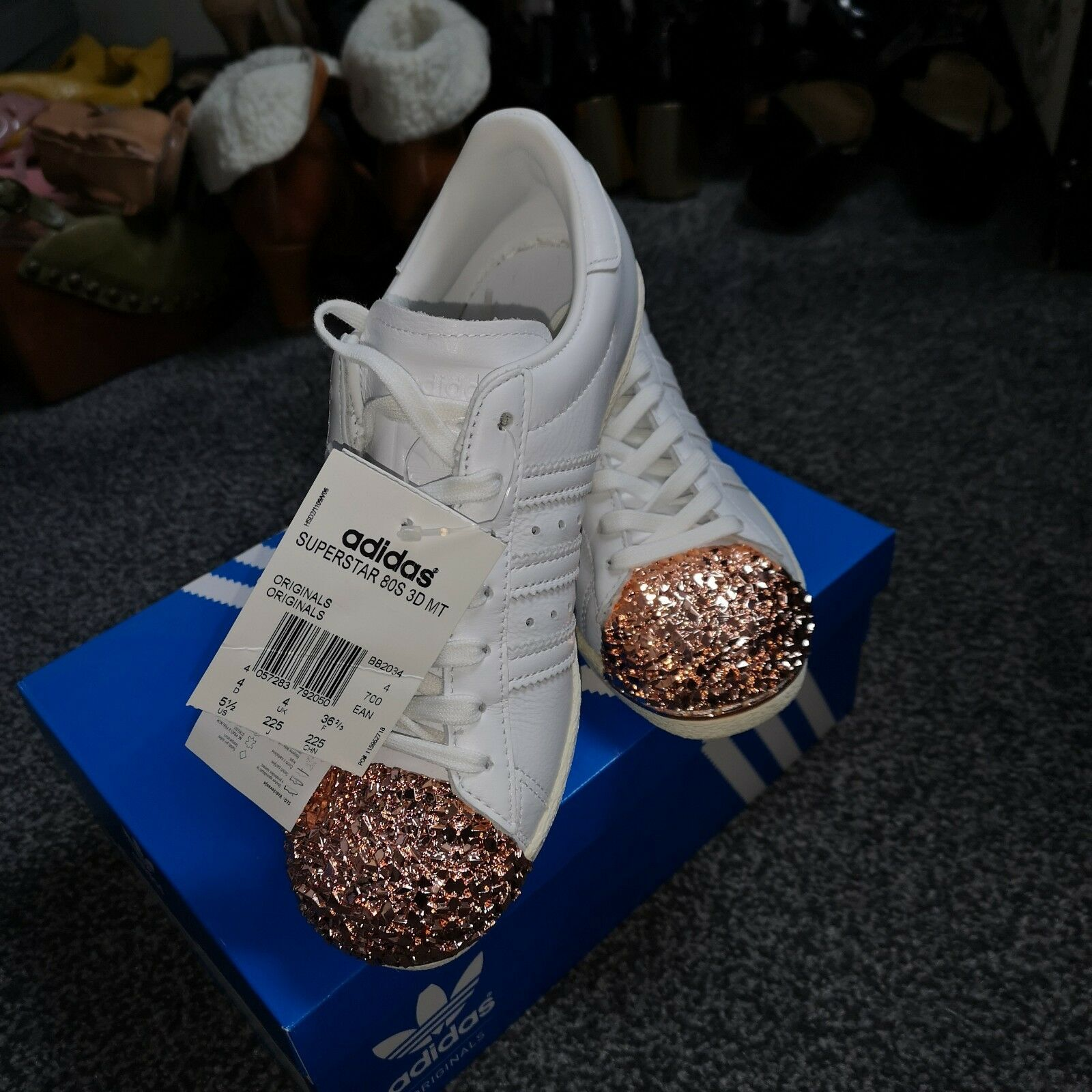Adidas Trainers Tags Size 4 New With Tags Trainers 16e9de Yiling