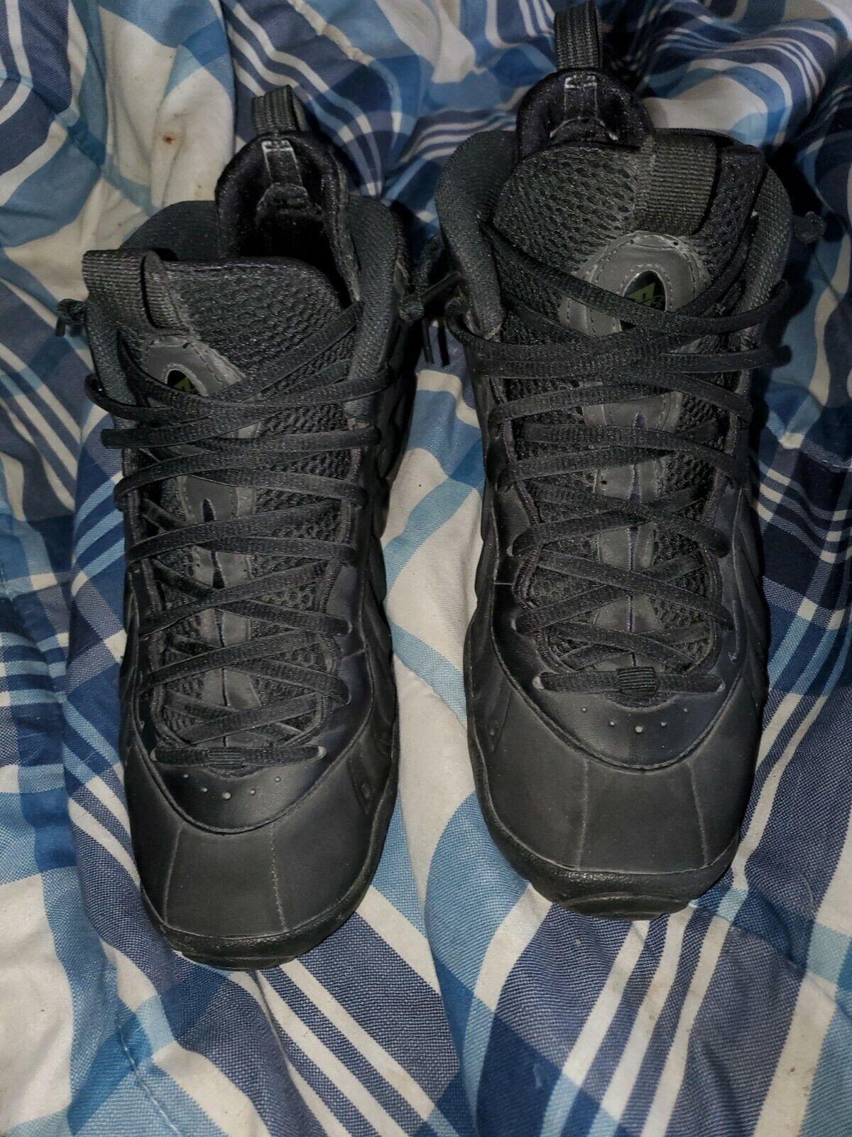Foamposite Triple Black Suede sz 7y Nike Foams Foams Foams Foamposites 26ad2c