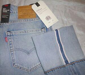 f216cccf NWT Levi's Men's 502 Regular Taper Fit Selvedge Stretch Jeans ...