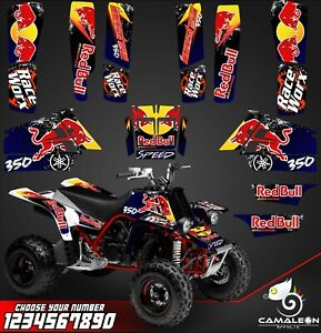 Yamaha Banshee 350 Full Graphics Kit Stickers Decals Atv Ebay
