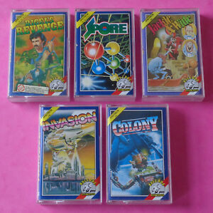Sinclair-ZX-Spectrum-COLLECTION-of-BULLDOG-GAMES-Mastertronic-48k-128k