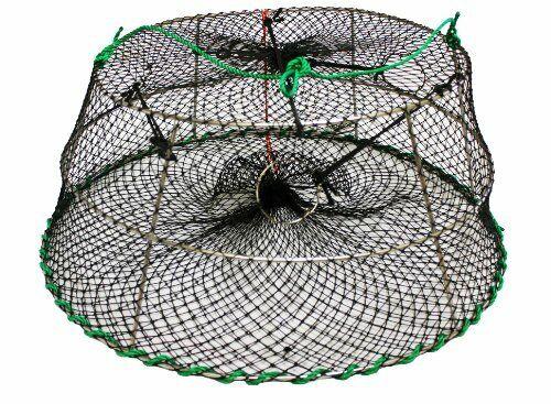 KUFA Tower style prawn trap (Size ø30  x ø20 x 12 H),Stretched Mesh size 1-1 4   lightning delivery
