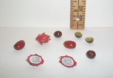 RE-MENT DOLL MINIATURE 1/6 LITTLES FOOD RARE LOT OF FRUIT ACCESSORY RETIRED