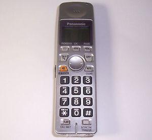 panasonic kx tga101s handset kx tg1035s pqlv30053zas cordless rh ebay com Panasonic Kx Tg2632 Handset instruction manual for panasonic cordless phone kx-tga101s