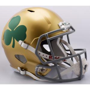 NOTRE-DAME-FIGHTING-IRISH-NCAA-Riddell-SPEED-Full-Size-Replica-Football-Helmet