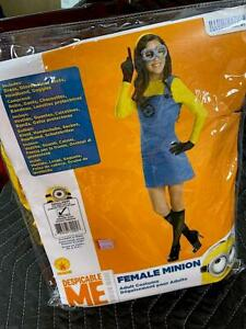 Female-Minion-Despicable-Me-Women-039-s-Costume-Rubies-Adult-Size-Small