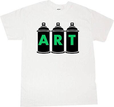 Kings Of NY Spray Can Graffiti Artist Short Sleeve Graphic Tee tshirt T-Shirt