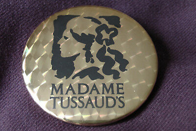Madame Tussauds vintage badge