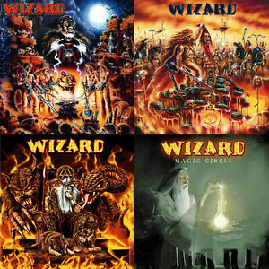 WIZARD-4CD-Remastered-Bundle-Special-Christmas-Offer-True-German-Heavy-Metal