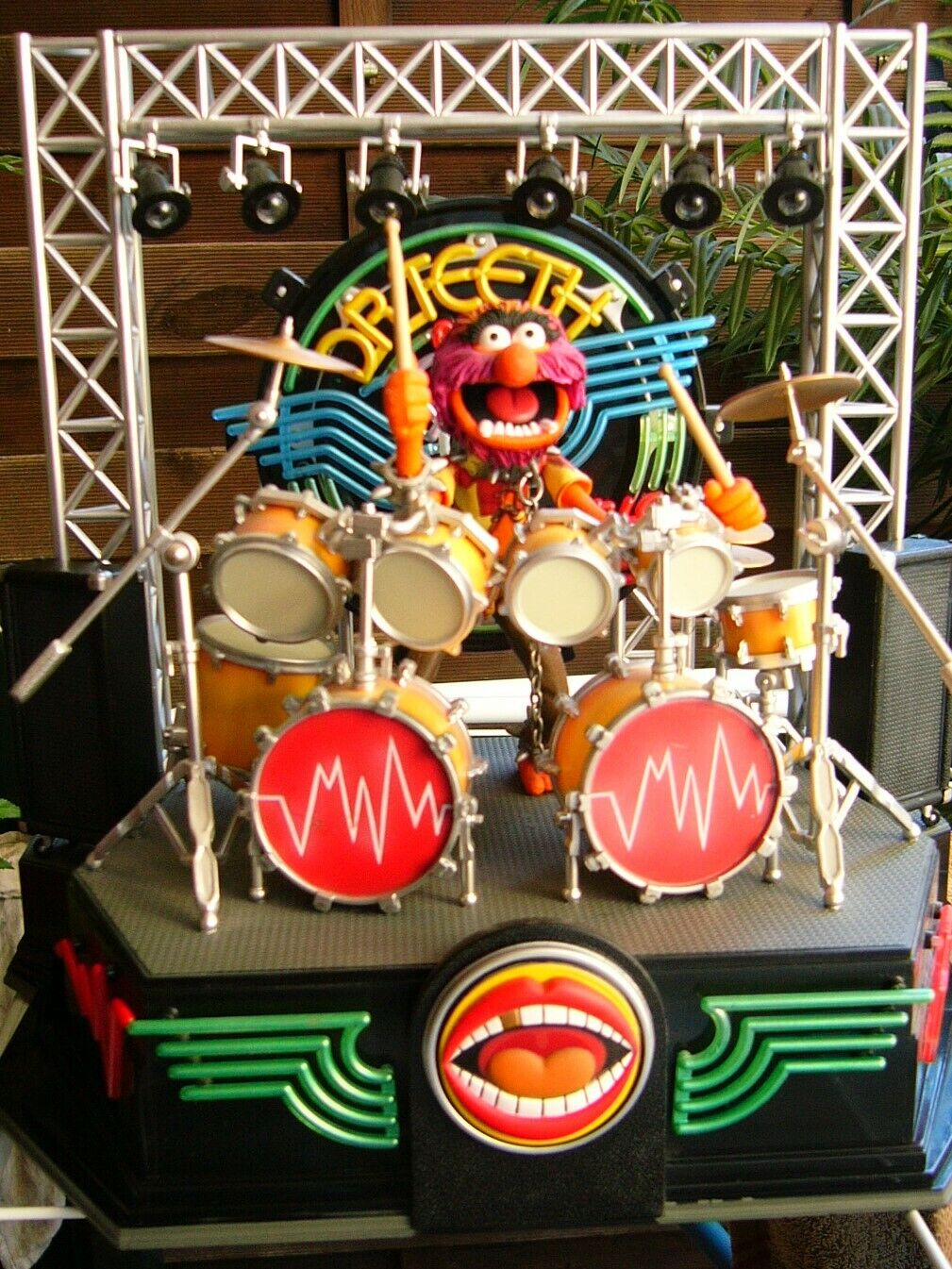 Palisades - Electric Mayhem Playset with Animal Drumset - Muppets- Muppet Show.