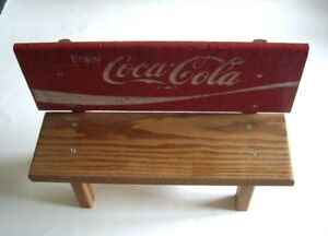 Super Details About Coca Cola Miniature Park Bench Solid Wood Caraccident5 Cool Chair Designs And Ideas Caraccident5Info