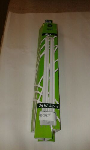2 x GE BIAX 2g11 24 W f24bx//835 4 Pin 325 mm Fluorescent Tube Light Bulb Lamp UK