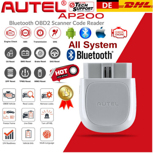OBD2 Bluetooth Diagnosegerät Scanner Fehlerauslesegerät Oil Reset EPB DFP IMMO