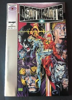 DEATHMATE YELLOW PREVIEW Capital City Distribution Advance Comics Edition 1993