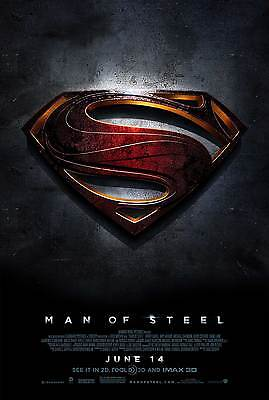Attento Sticker Autocollant Poster A4 Film Affiche/poster Man Of Steel Superman.2