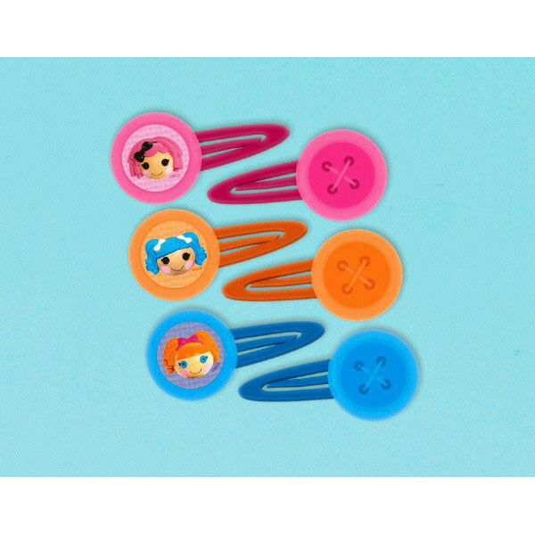 Lalaloopsy Party Supplies 12 x HAIR CLIP Favours Pack Genuine Licensed