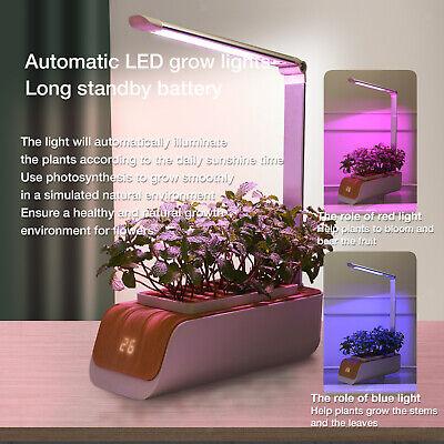 Hydroponic Grow System Indoor Garden Smart Planter LED Grow Light  | eBay