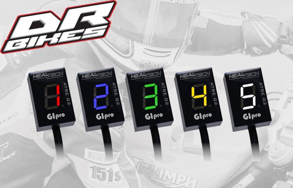 Triumph Daytona 675R Kein ABS Healtech Ganganzeige DS Serie