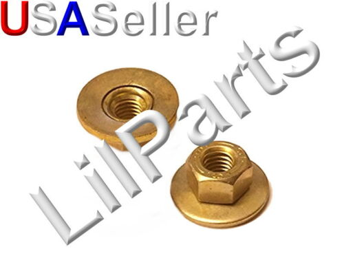 M6-1.0 Free Spinning Washer Nut Ford N621907 15332 Swivel Flange Spin Nuts