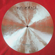"Istanbul AGOP 15"" Traditional LIGHT Hi Hats PAIR - 1091g/1207g - NEW"