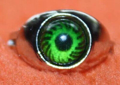 NEW AWESOME ICU ROUND EYE MOOD RING W/ FREE COLOR CHANGE CHART