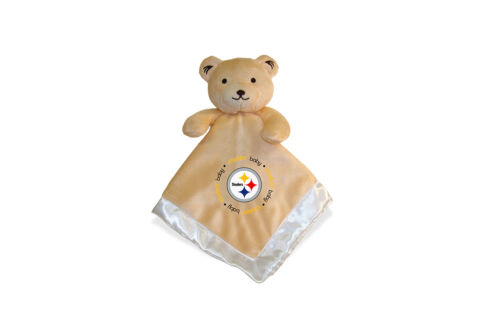 Pittsburgh Steelers 14x14 Security Bear Blanket Baby Fanatic NFL Hologram NWT
