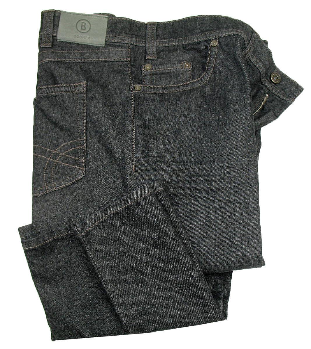 BOGNER Jeans   Vega-Gen ( Comfort Fit ) black treated STRETCH