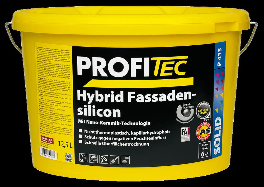 ProfiTec P 413 Hybrid Silicon Fassadenfarbe 5 Liter