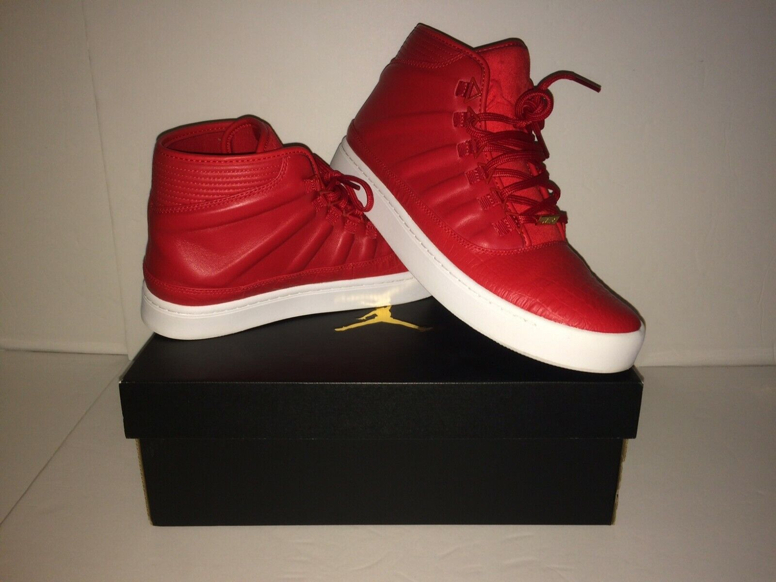 NIKE AIR JORDAN WESTBROOK 0 RED Jumpman Men's SZ 10.5 Leather EUC