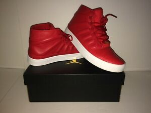 75ea64394c29 NIKE AIR JORDAN WESTBROOK 0 RED Jumpman Men s SZ 10.5 Leather EUC ...