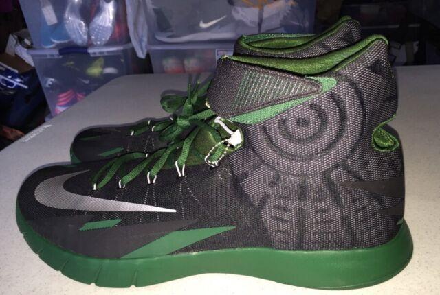 2cd58f580cfd Nike Zoom HyperRev Kyrie Irving Basketball US 17.5 Black Green Grey  643301-014