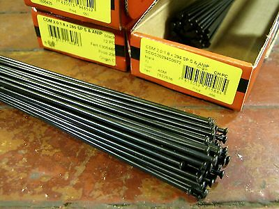 DT SWISS SUPER COMP Spokes Black J-bend 2.0//1.7//1.8mm