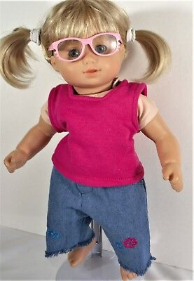 SUN GLASSES FOR 15 in 18 in AMERICAN GIRL DOLL BITTY BABY BOY GIRL ACCESSORIES