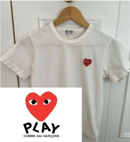 Commes Des Garcons PLAY tshirt small womens
