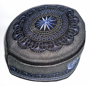 Muslim Men Kufi Hat ALW005 Haj Topi Prayer Cap Thai Product Islam ... b283fea67b