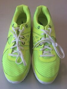 33eec8293d80 NIKE LUNAR FOREVER 2 MENS TRAINING RUNNING SHOES SZ 8 NEON YELLOW ...