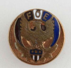 Fraternita-Ordine-di-Eagles-Spilla-da-Bavero-Foe-Smaltato-Collezione-Vintage
