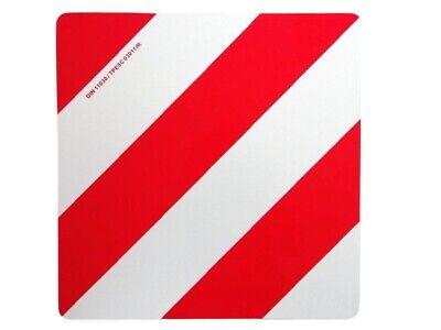 Auto & Motorrad: Teile Und Forstwirtschaft 423 X 423 Mm Weiß-rot Alu Lkw Discounts Sale 2019 Latest Design Warntafel Überbreite Land Sonstige