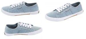 Kangaroos-Damen-Sneaker-Canvas-Schuhe-hellblau-Sommer-Groesse-40-18-0248-B21
