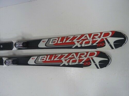 Skis Blizzard XO7 IQ with bindings, 167cm (EE1154) Good Condition