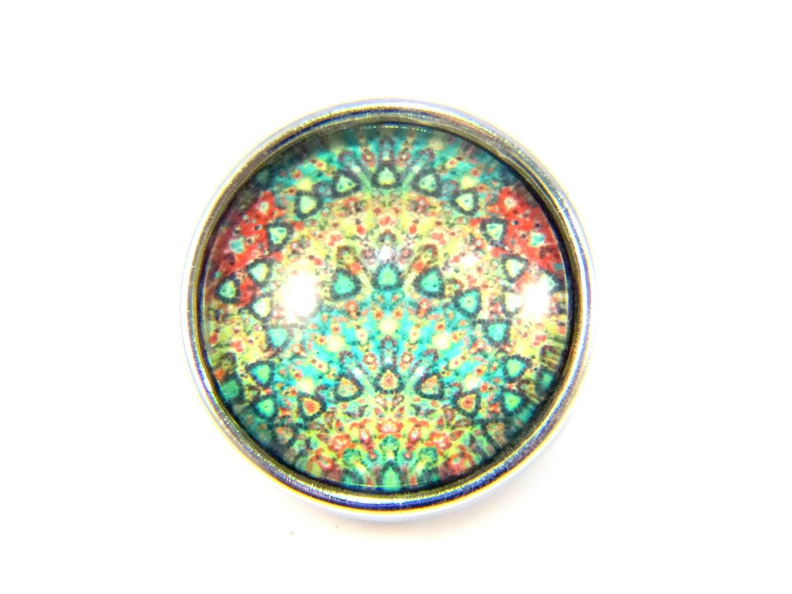 Noosa Style Chunk Chunks Ginger Snap Button Jewellery Charms Cultural 18mm 6