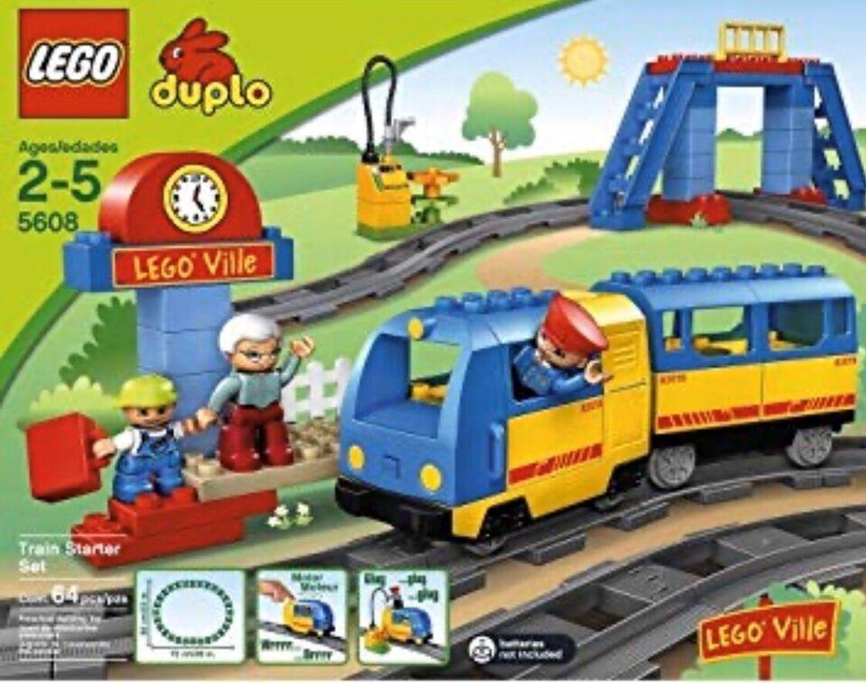 Lego Duplo, Togbane, godstog