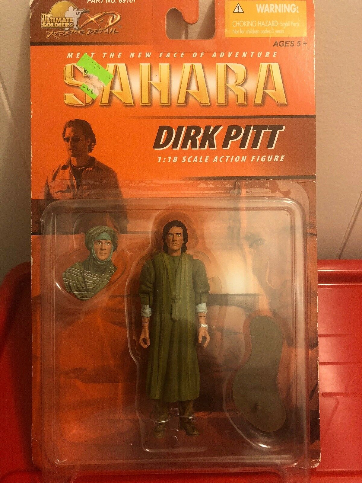 1:18 scale Matthew McConaughey As Dirk Pitt Action Figure - Clive Cussler's The