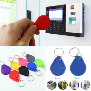 Details about 10 100pcs Access Control RFID IC Keyfobs Token NFC Smart Tags  Keychain 13.56MHz 5b4ec8185