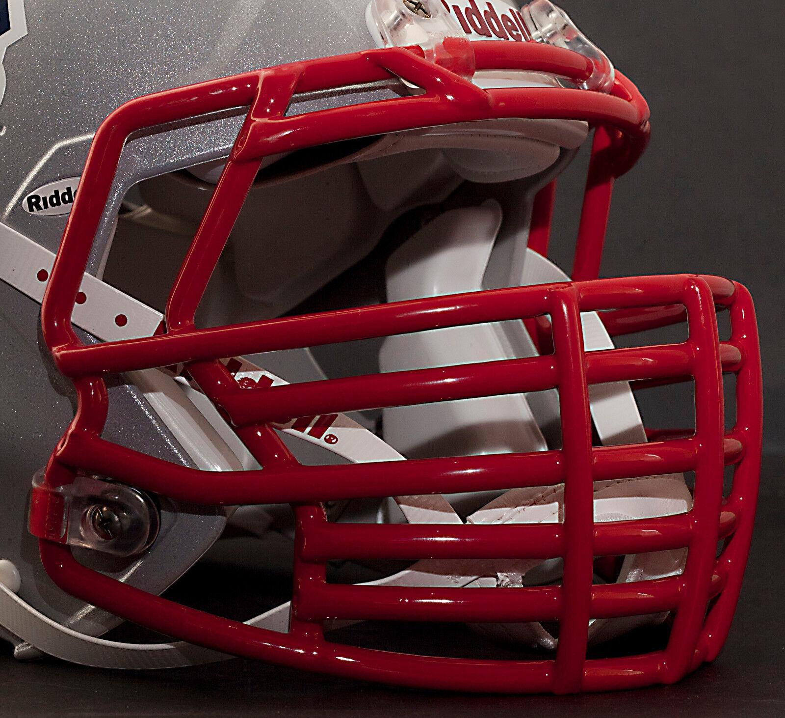 Riddell Revolution SPEED S2BDC-HT-LW S-Bar Football Helmet Facemask - RED