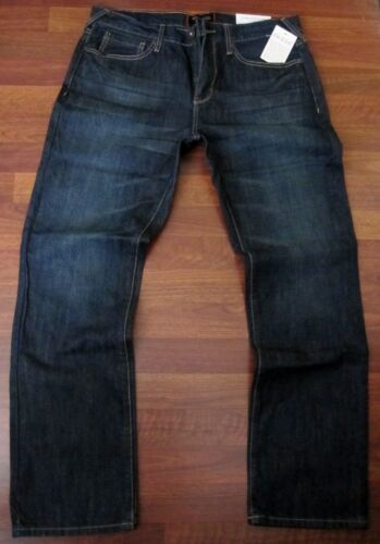 Guess Slim Straight Leg Jeans Mens Size 34 X 34 Classic Dark Distressed Wash