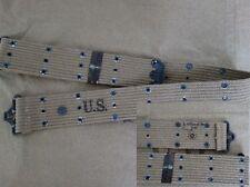 US Army m36 Cinturone buco Cinturone m-1936 ORIGINAL BELT Marines USMC Navy wk2 WWII